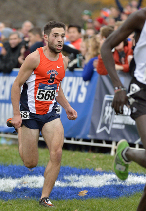 Philo Germano is one of Syracuse's top runners this year. He worked his way up by redshirting and battling through an injury.