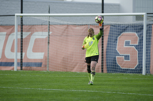 Courtney Brosnan recorded a career-high 15 saves as Syracuse tied No. Florida State.
