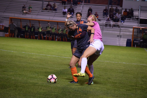 Syracuse didn't tally any of its own goals in its matchup against Virginia Tech. The Hokies scored a goal on themselves, providing the Orange's only offense.