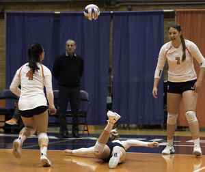 Several errors in the third set halted Syracuse's momentum against Duke on Sunday.