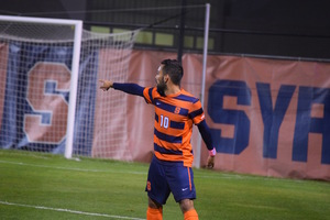 Sergio Camargo has racked up three goals and two assists in three postseason games this year.