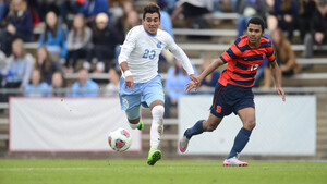 North Carolina will face Syracuse in the NCAA tournament's third round on Nov. 27 at 2 p.m. at SU Soccer Stadium.