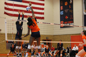 Leah Levert and Syracuse have made crucial errors that have cut down on its hitting percentage.