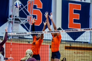 Syracuse beat Virginia, 3-1, on Friday night.