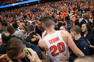 Tyler Lydon and Syracuse notched a third Top 10 in the Carrier Dome this season.