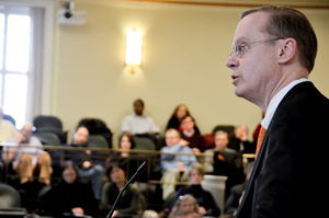 "Chancellor Kent Syverud has announced the creation of an ad hoc committee that aims to ""prevent all members of the community from physical harm, discrimination and intimidation"" in February."