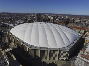 The Carrier Dome roof is expected to be renovated in the near future.