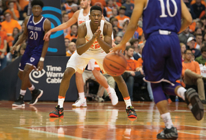Tyus Battle and the Orange will play the Kansas Jayhawks at American Airlines Arena and host three games in the Carrier Dome as part of the invitational.