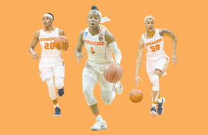 The guide for the three Syracuse players who could hear their name called in Thursday night's WNBA Draft.