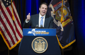 Cuomo signed the legislation Tuesday at the LaGuardia Community College in Queens.