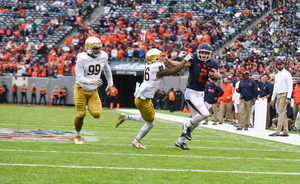 Syracuse lost to UND at MetLife Stadium last year in a matchup that will become more common in the future.