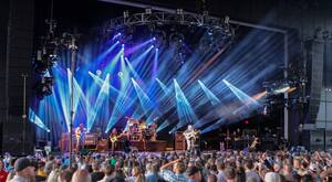 The Lakeview Amphitheater opened last year. The venue holds up to 17,500 people with reserved seating and general admission in the pit areas.